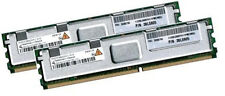 2x 2gb 4gb di RAM IBM 38l5905 pc2-5300f 667 MHz FB DIMM ddr2 Fully Buffered