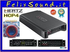 Hertz HCP 4 Amplificatore 4 CANALI 760W GARANZIA ITALIA + KIT CAVI DIETZ OMAGGIO