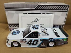 2020 Ross Chastain #40 Plan B Sales Autograph Chevrolet 1:24 NASCAR Action MIB