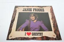 Janie Frickle I Love Country LP Vinyl Record VG+/VG+ US Pressing