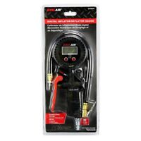 Milton Exel Air Digital Tire Inflator Gauge with locking Chuck #EX0500D