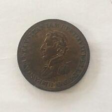 1812 Duke Of Wellington Battle Medal Token Coin Colonial