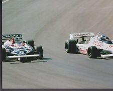Derek Warwick Toleman-Hart Keke Rosberg US GRAND PRIX 1981 8 X 10 PHOTO 2