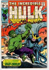 INCREDIBLE HULK #126 1970 1ST APPEARANCE BARBARA NORRISS VALKYRIE BRONZE AGE!
