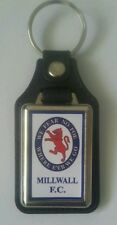 Millwal F.C. Quality leather fob medallion Keyring .