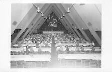 Rppc Hawaii Assembly Dinner Event? Real Photo Postcard (c. 1940s)