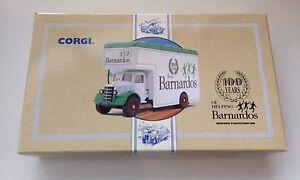 CORGI COMMERCIALS 97087 THE PANTECHNICON BARNARDOS  BEDFORD VAN MIB