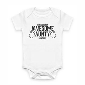 Cute Baby Clothes - Romper with print - Awesome Aunty