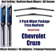 2-Pack Super-Premium NeoForm Wipers fit 2016+ Chevrolet Cruze - 162815/2415
