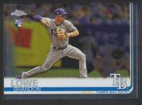 Topps - Chrome 2019 - # 151 Brandon Lowe - Tampa Bay Rays RC