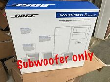 NEW BOSE ACOUSTIMASS 6 SERIES V Subwoofer + power cord. 5.1 Surround  Brand New