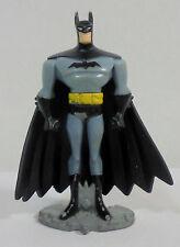 MATTEL DC 2004 JUSTICE LEAGUE UNLIMITED BATMAN 3'' DIECAST METAL FIGURE PVC CAPE