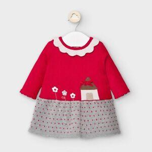 New Mayoral Baby Girls Knit Dress , Age Newborn, (2855)