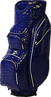 OUUL Alligator Cart Bag 15 way Divider Top in Blue Brand New **70% Off Sale**