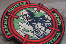 NAGATAC Zombie Hunter Tactical Squad Patch Embroidered w/hook and loop back
