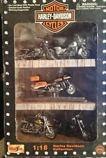 Harley-Davidson 1:18 Toy Motorcycle Collection 5 Motorcycles
