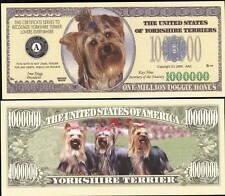 Lot Of 25 Bills - Yorkshire Terrier Dog Million Dollar