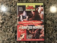 A Bucket Of Blood/The Giant Gila Dvd! 1959 Black & White Horror!