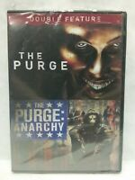 The Purge & The Purge: Anarchy [New DVD] Snap Case
