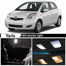 6x White Interior LED Lights Package for 2007-2011 Toyota Yaris Liftback