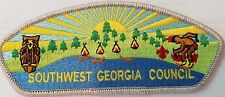 Southwest Georgia Council s2 csp or shoulder patchAlbany Georgia OA 358 Merged