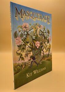 Masquerade Kit Williams Hardcover 1979 Johnathan Cape