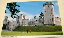 England Warwick Castle The East Front 2WK2 John Hinde - unposted