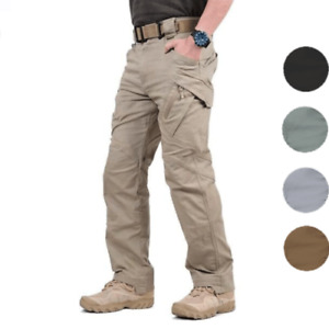 Army Military Men's Tactical Cargo Pants Combat Casual Trousers Outdoor Hiking