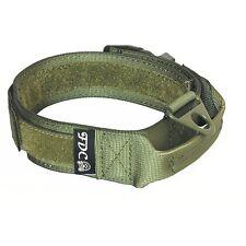 SET of Dog Tactical COLLAR + LEASH Molle Handle Training K9 HOOK & LOOP Large