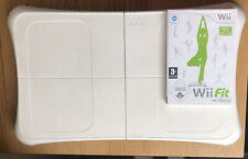 Nintendo Wii Fit Balance Board and Wii Fit Game