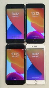 LOT OF FOUR, GSM UNLOCKED APPLE iPhone 6S, 32GB PHONES FOR PARTS OR REPAIR T70P