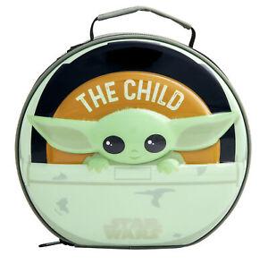 "Star Wars The Mandalorian Child  ""Grogu"" Pod 6D Insulated Lunch Bag"