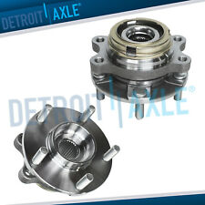 Pair Front Wheel Bearing Amp Hub For 2003 2004 2005 2006 2007 Nissan Murano Quest