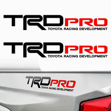 TRD PRO Toyota Tacoma Tundra Racing Decals Stickers Graphic Cut Vinyl