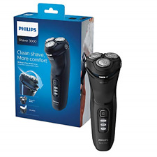 Philips Shaver Series 3000 with Powercut Blades, Wet & Dry Men's Electric Shaver