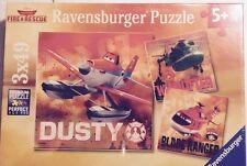 Ravensburger Disney Planes Fire & Rescue 3 Jigsaw Puzzles 49 pieces New 2014