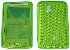 TPU Anteriore e Posteriore Gel Custodia Cover verde per Sony Ericsson Xperia Mini Pro SK17i UK