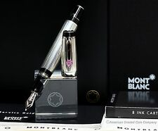 MontBlanc BOHEME .925ag Je t'aime F.P W/Heart Sapphire & 18K NIB NEW & UN-INKED!