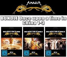 JET LI - ONCE UPON A TIME IN CHINA Collection 1 2 3 TRILOGY DVD Edition NEU