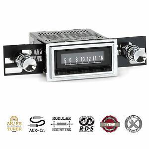 1961-62 Chevrolet Chevy Car RetroSound Laguna Radio AM/FM AUX RetroRadio Stereo