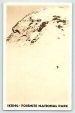 CALIFORNIA SKIING YOSEMITE 6 FEB 1939 TO MISS ANNABEL LUSHER MT STERLING OHIO