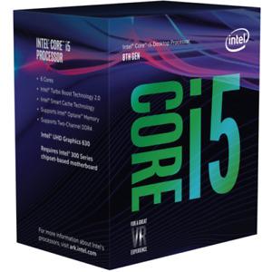 Intel Core i5-8400 Coffee Lake 6-Core 2.8 GHz LGA1151 65W BX80684I58400