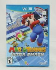 Mario Tennis Ultra Smash Nintendo Wii U Brand New Factory Sealed