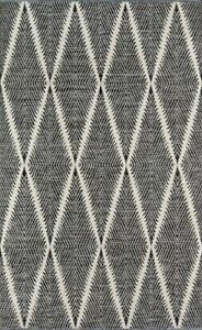 Erin Gates By Momeni Black Woven Area Rug 2' X 3'