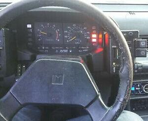 Isuzu Impulse, 1983, 1984, 1985, 1986 - 1988, Speedometer - Instrument Cluster