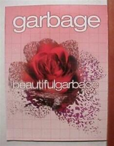 Garbage Poster Great Band shot 2 sided