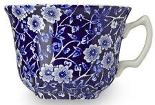 Burleigh ware Blue Calico teacup 187ml