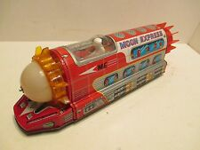 Moon Express Battery Operated Excellent Cond Works Good Made In Japan