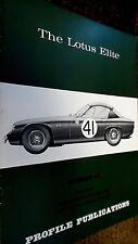 PROFILE PUBLICATIONS CAR #48: THE LOTUS ELITE (1967)