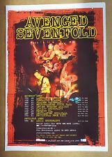Avenged Sevenfold Tour Poster 2006